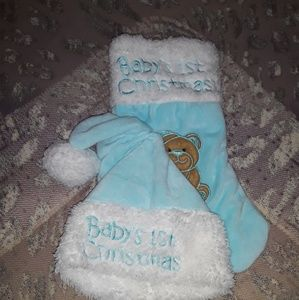 Brand new Babys first chriatmas set!
